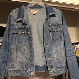 91f465a8841 Arizona Jean Company Jackets & Coats | Arizona Cropped Jean Jacket ...
